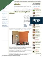 Pemilihan Warna Untuk Dinding Rumah Minimalis _ Desain Rumah Minimalis _ - Desain Interior _ Desain Rumah Minimalis 1
