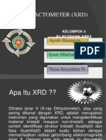 X-RAY DIFRACTOMETER (XRD)i.pptx