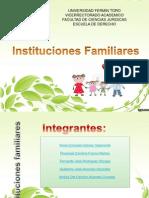 Instituciones Familiares Finalpower Point