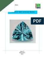 Precious Semi-Precious Stones Sample