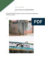 Inseguridad Delincuentes Le Ponen Precio a La Paz en La Capital de Honduras