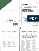 Manual Yamaha Crux (Versión 1)