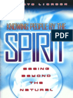 Knowing People by the Spirit