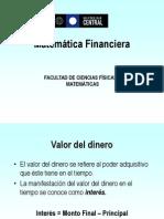 Presentación Matemática Financiera .ppt