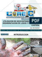 Utilizacion de Geocontenedores en La Hidratacion de Lodos y
