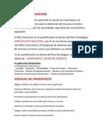 Planeacion Financiera u