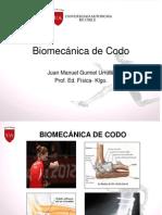 Clase 2.Biomecania de Codo