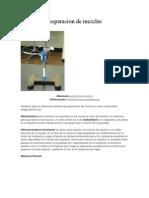 quimica_Métodos de separacion de mezclas