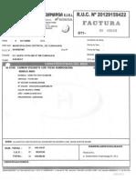 Facturas y Guias Automotriz Huamanga