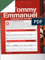 Fingerpicking with Tommy Emmanuel