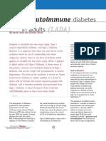 Laten Autoimun Diabetes In Adult.