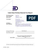 Link - Chase Friction Material Test Report