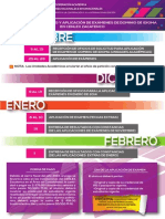 Proceso Aplicacion Examen 20141