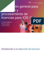 IOS15 Lic Process
