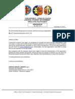XU-CSG OVP Memorandum 008-1314