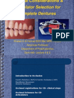 Prostho Vi- slides 5 - occlusal_considerations
