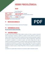 ANAMNESIS PSICOLOGICA 2