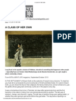 A CLASS OF HER OWN - Humaira Bachal.pdf