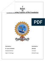 A report on dynamic bearing capacity of pile foundation.pdf