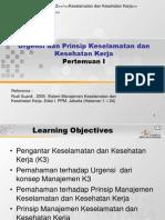 A-12 Urgensi & Prinsip K3.ppt