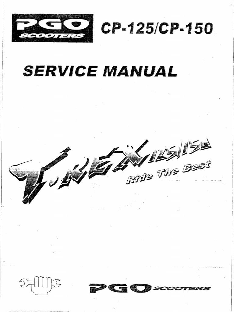 PGO T Rex 125_150 Service Manual.pdf
