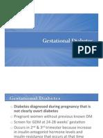 Lecture Slides-Week3!3!10 GestationalDiabetes