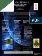 La Tierra, Recursos y Estructuracion