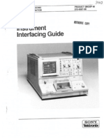 TEK 370 Instrument Interfacing Guide