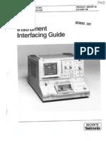TEK 370 Instrument Interfacing Guide