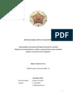 sensor network merapi-PKM. untuk early warning system