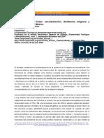 Entre el Dios y el César. Secularización, disidencia religiosa y cultura política en México. Alfredo Echegollen Guzmán