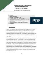 CORRY - history of Fermat's Last Theorem.pdf