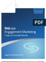 Web 2.0 Engagement Marketing
