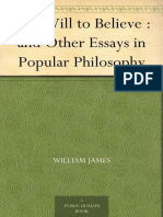 The Will to Believe _ and Other Essays in Popular Philosophy - James, William