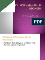 Profil Kesehatan Ibu Di Indonesia