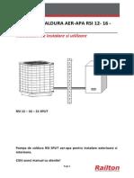Instructiuni de Instalare Si Utilizare Rsi 12-16-21 Split v1
