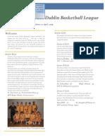 sdbl newsletter 2009