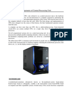 Components of Central Processing Unit.docx