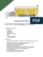 Recept Entrecote