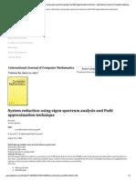 Taylor & Francis Online . eig + pade.pdf