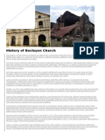 History of Baclayon Church.docx