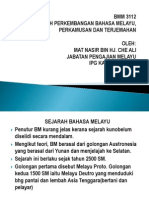 SEJARAH PERKEMBANGAN BAHASA MELAYU (En Mat NAsir).pptx