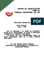 Evaluacion Diagnostic A PDF