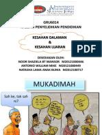 KESAHAN DALAMAN2013.pptx