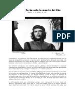 Carta de Perón ante La Muerte Del Che