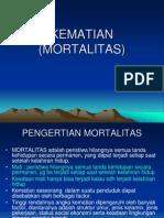 KEMATIAN (MORTALITAS)