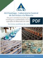 ALS Santiago Laboratorio Central de Servicios a La Minera Servicios Analticos de Cobre y Oro