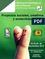 Programa XVIII Congreso Nacional de Sociología en Castilla-La Mancha