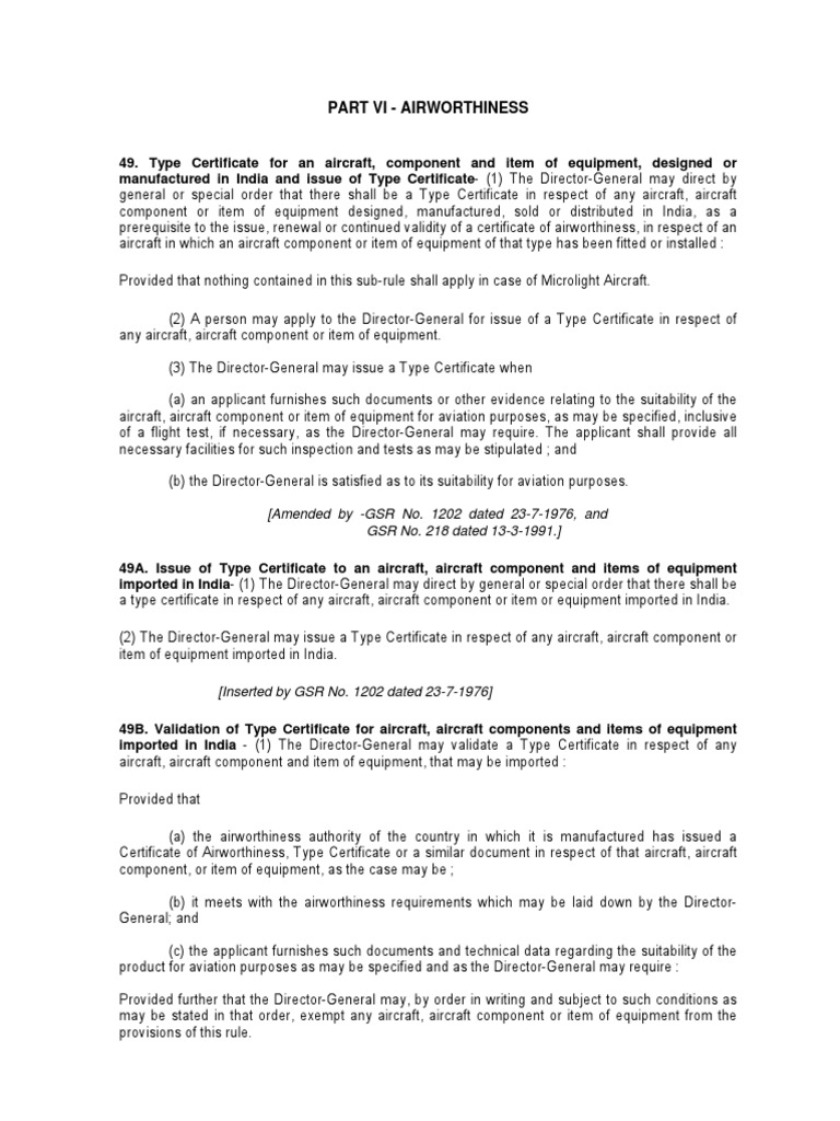 Part 6 act 1937pdf aircraft aerospace engineering yelopaper Image collections