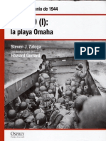21.- El Día D I la playa de Omaha - Normandía, junio de 1944